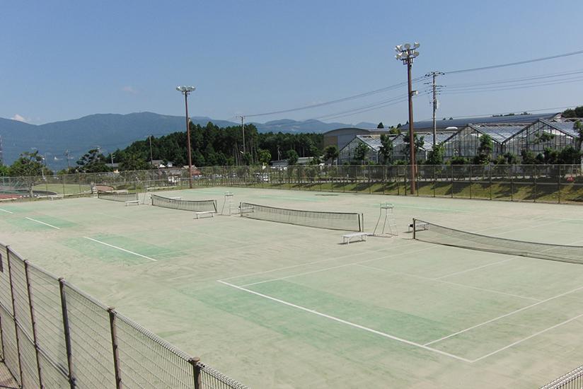 御殿場市中央テニスコート