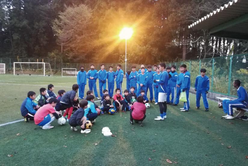 第4回JFAアカデミーフレンドシップサッカー教室 レポート