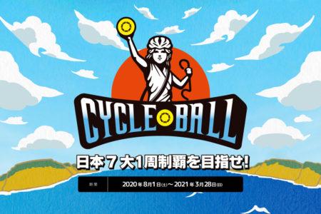 ~コロナに対応した新時代のサイクルツーリズム~ <br>サイクルボール –日本7大1周制覇の旅-」が始まります。